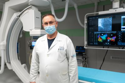 Kardiologické centrum AGEL v Pardubicích má nejmodernější rentgenový přístroj pro invazivní léčbu poruch srdečního rytmu